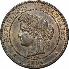 O290 Rare 10 Centimes Cérès 1891 A Paris SPLENDIDE !!!!!!!!!!!!!! > Faire offre