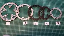 BICYCLE CHAINRINGS 24T - 42T, 5 BOLTS, 74 mm OR 110 mm BCD, STEEL OR ALLOY