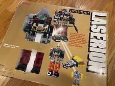 Laserion w/box Deluxe DX GoDaiKin Shogun Warrior Transformer