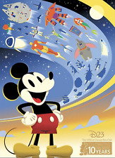 NEW 2019 Disney D23 Expo Exclusive Print for D23 Gold Members