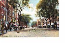 Manchester, Nh Elm Street 1909