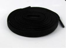 FLAT SHOE LACES approx 120cm - Black