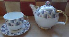"FOLEY (EB&Co) CHINA 1 Pint TeaPot & Cup & Saucer Rd No 755313 ""Stunning"""
