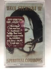 DAVE STEWART AND THE SPIRITUAL COWBOYS * Self-Titled [Cassette Tape] NEW SEALED