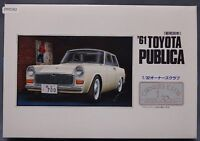 Arii Toyota Publica 1961 1/32 Scale Car Plastic Model Kit Display PM590
