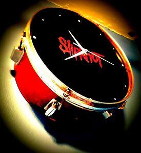 *Slipknot* Drum Clock upcycled #