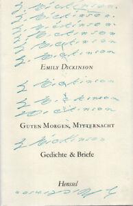 Guten Morgen, Mitternacht - Gedichte & Briefe - Emily Dickinson