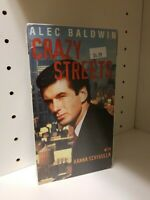 Rare SEALED Crazy Streets (VHS, 1994) Free Shipping