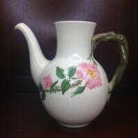 Franciscan Desert Rose Coffee Hot Chocolate Tea Pot Made California USA Vintage