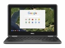 Dell Chromebook 3180 Intel Celeron N3060 4GB 16GB eMMC 11.6 HD TOUCHSCREEN