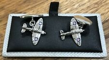 Spitfire Cufflinks By Onyx-Art Of London