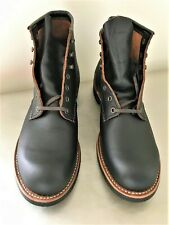 """RED WING Heritage 3345 Blacksmith 6"""" Boots 11 D  First Quality NEW Black Prairie"""