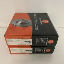 New Genuine eurorepar front Brake Discs x2 1618865280 Top Quality