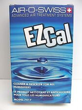 Air O Swiss EZ Cal Cleaner & Descaler for Humidifiers Model 7417