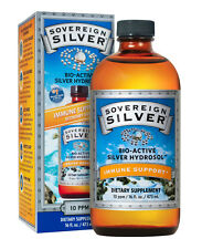 Sovereign Silver Bio-Active Colloidal Silver Hydrosol 10 PPM - 16 oz.