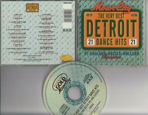 MOTOR CITY The Very Best Detroit Dance Hits 21 Holland Dozier CD Supremes etc