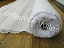 SAMPLE of Voile Fabric, White, Cream, Sparkle, Muslin 150cm & 300cm Wedding
