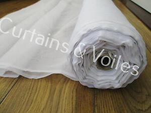 Voile Fabric , White, Cream, Sparkle, Muslin 150cm & 300cm wide Wedding craft