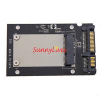 "Enclosure mSATA SSD to 2.5"" SATA Convertor Adapter Card SSD Case for Laptop PC"