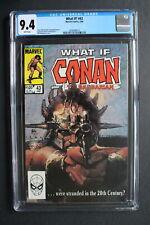 WHAT IF? 43 CONAN 20th Century 1984 Doctor Strange Silver Surfer Phoenix CGC 9.4