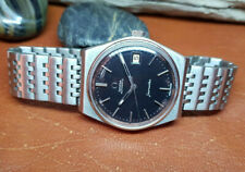 USED 1977 OMEGA SEAMASTER BLACK DIAL DAYDATE CAL:1012 AUTO MAN'S WATCH