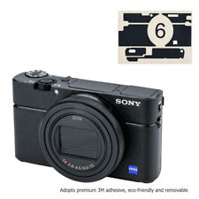 Anti-Scratch Leather Camera Body Skin Film Cover Protector for Sony RX100 VI M6