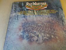 RICK WAKEMAN,JOURNEY TO THE CENTRE OF THE EARTH,LP A&M AMLH63621,+BIOOKLET