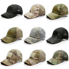Outdoor Tactical Cap Summer Military Hunting Hiking Mesh Baseball Cap ACU CP Cap