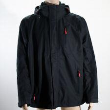 McKinley Herren Wander Freizeit Softshell Jacke Regenjacke schwarz Gr. L