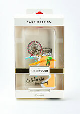 Case Mate iPhone 6 iPhone 6s Naked Tough Hard Case San Monica California Dream