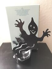 Partylite Shadowdancers Ghost Halloween Candle Holder Votive P7797