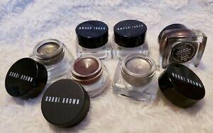 BOBBI BROWN Long Wear Cream Shadow, Metallic, Gel Eyeliner CHOOSE COLOR TYPE