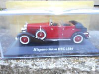 HISPANO SUIZA H6C 1934- SCALA 1:43