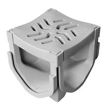 Source 1 Drainage Trench & Driveway Channel Drain Quad Connector