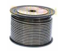8AWG - 92Amp. BLACK DC POWER HEAVY DUTY AUTO CABLE. AMPLIFIER WIRE ETC. 50m REEL