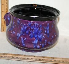 Six and a Half Inch Modern Ceramic Standard African Violet Pot
