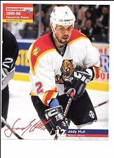 Jody Hull Unsigned 8 x 10 Stadium Giveaway 1995-96 Florida Panthers # 9 of # 40