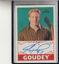 "2016 UPPER DECK GOUDEY GOODWIN  CHAMPIONS JEREMY ROENICK ""HOCKEY"" AUTOGRAPH AUTO"