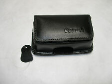 imitation leather Case with belt clip black for Nokia 6101 new