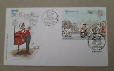 Stamp Week 2018 Cinderella Cachet World Post Day first day cover Malaysia FDC