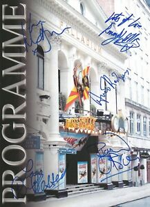 Chitty Chitty Bang Bang hand signed Theatre programme 2002 5 Sigs UACC Dealer