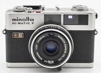 Minolta HI-Matic F Sucherkamera Kleinbildkamera - Rokkor 1:2.7 38mm Optik
