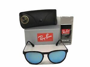 Ray-Ban RB4171 ERIKA 601/55 54MM Blue Mirror Lenses Sunglasses