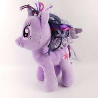 "Build A Bear My Little Pony Twilight Sparkle 17"" Plush Purple Unicorn BAB Wings"