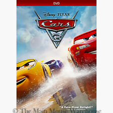 New Disney Pixar Cars 3 Car Crash Racing Retirement Story Family Movie on DVD