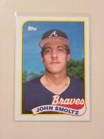 1989 Topps John Smoltz RC Rookie #382