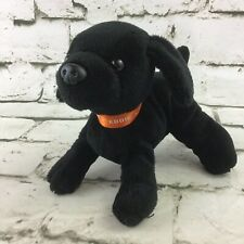 Eddie Bauer Black Lab Plush Puppy Dog Stuffed Animal Soft Toy