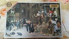 "FALCON 5000 PIECE Jigsaw Puzzle ""The Return of the Prodigal Son"" Tissot RARE"