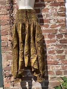 hippie/boho/alternative free size baggy alibaba/ Drop Crotch, harem trousers