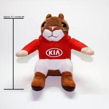 Kia Hoodie Hamster Plush Toy with Kia Logo hampster hamstar mascot stuffed doll